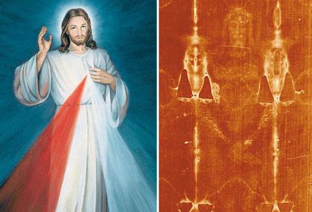 De wat verwijfde Christus van de Barmhartigheid, zonder hart en zonder wonden, heeft weinig of geen gelijkenis met de Uomo del Sindone, «Atleet van God» (abbé de Nantes) en Man van Smarten.