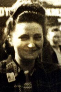 Helena Kowalska als jonge vrouw